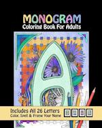 Monogram Coloring Book for Adults af Ryan S. Kennedy
