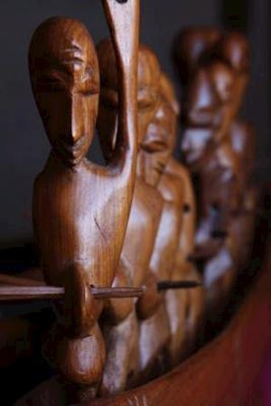 African Woodcarving Art Journal af Cool Image