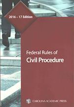 Federal Rules of Civil Procedure 2016-2017