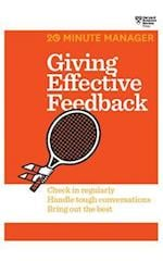 Giving Effective Feedback (20 minute Manager, nr. 2)