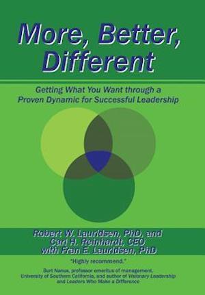 Bog, hardback More, Better, Different af C. Reinhardt, F. Lauridsen, R. Lauridsen