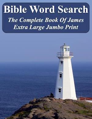 Bible Word Search the Complete Book of James af T. W. Pope