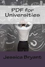 PDF for Universities af Jessica Bryant