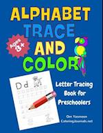Alphabet Trace and Color af Coloring Journals