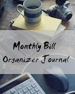 Monthly Bill Organizer Journal