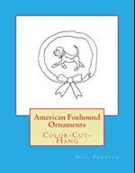 American Foxhound Ornaments