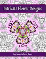 Intricate Flower Designs af Zenmaster Coloring Books
