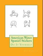 American Water Spaniel Stickers