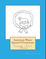 American Water Spaniel Ornaments