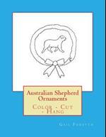 Australian Shepherd Ornaments