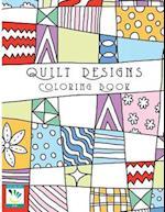 Quilt Designs Coloring Book