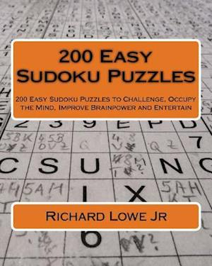 200 Easy Sudoku Puzzles af Richard G. Lowe Jr