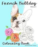 French Bulldog Colouring Book.