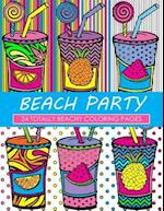 Beach Party Coloring Book af Dani Kates