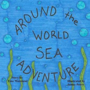 Bog, paperback Around the World Sea Adventure af Tina Moreland