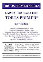 Rigos Primer Series Law School and Ube Torts Primer af MR James J. Rigos