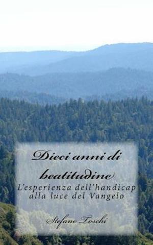 Bog, paperback Dieci Anni Di Beatitudine af Stefano Toschi