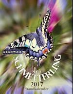 Der Schmetterling 2017 Wandkalender (Ausgabe Deutschland)
