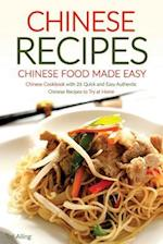 Chinese Recipes - Chinese Food Made Easy af Ted Alling
