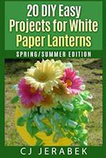 20 Easy DIY Projects for White Paper Lanterns af Cj Jerabek