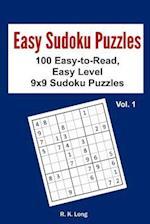 Easy Sudoku Puzzles Volume 1 af R. K. Long
