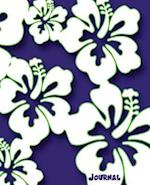Journal (Hibiscus Hawaii Flower Gift Journal Navy, Lime Green Edition)