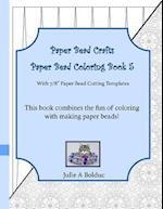 Paper Bead Crafts Paper Bead Coloring Book 5