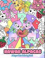 Kawaii Alpacas af Mindful Coloring Books