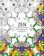 Zen Coloring Books for Adults