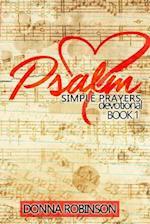Psalm Simple Prayer Devotional Book 1