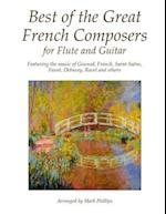 Best of the Great French Composers for Flute and Guitar