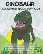 Dinosaur Colouring Book for Kids