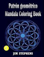 Patron Geometrico Mandala Coloring Book