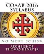 Coaab 2016 Syllabus af Archbishop Thomas F. Henry Jr