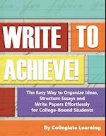 Write to Achieve!