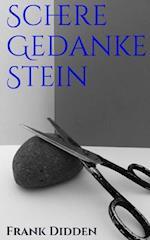 Schere Gedanke Stein af Frank Didden