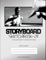 Storyboard Sketchbook - V03