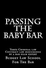 Passing the Baby Bar