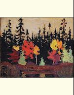 Black Spruce and Maple, Tom Thomson. Blank Journal