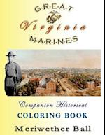 Great Marines of Virginia Historical Coloring Book