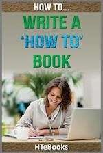 How to Write a How to Book