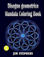 Disegno Geometrico Mandala Coloring Book