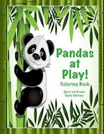 Pandas at Play! Coloring Book
