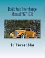 Buick Auto Interchange Manual 1927-1935