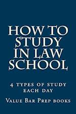 How to Study in Law School