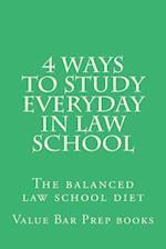 4 Ways to Study Everyday in Law School