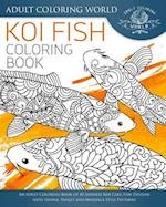 Koi Fish Coloring Book