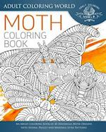 Moth Coloring Book