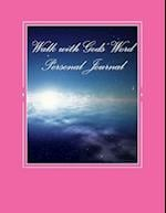 Walk with Gods' Word Personal Journal