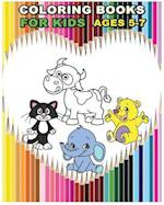 Coloring Books for Kids Ages 5-7